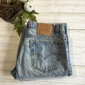 Vintage 80's Levi's 550 hi-rise boyfriend jeans